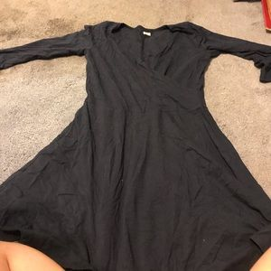 Navy blue long sleeve Hollister dress